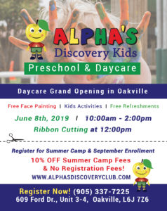10 Reasons to Choose Our Daycare Oakville