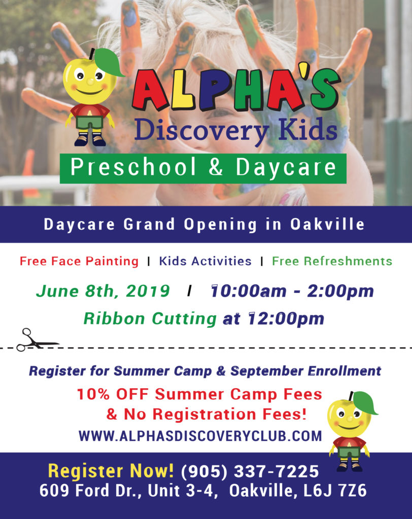 Find the Perfect Oakville Daycare