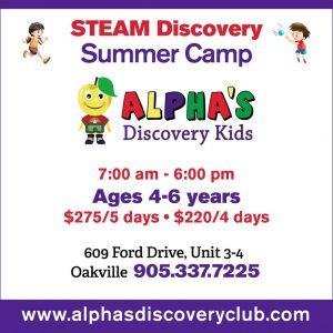 STEAM Summer Camp Oakville